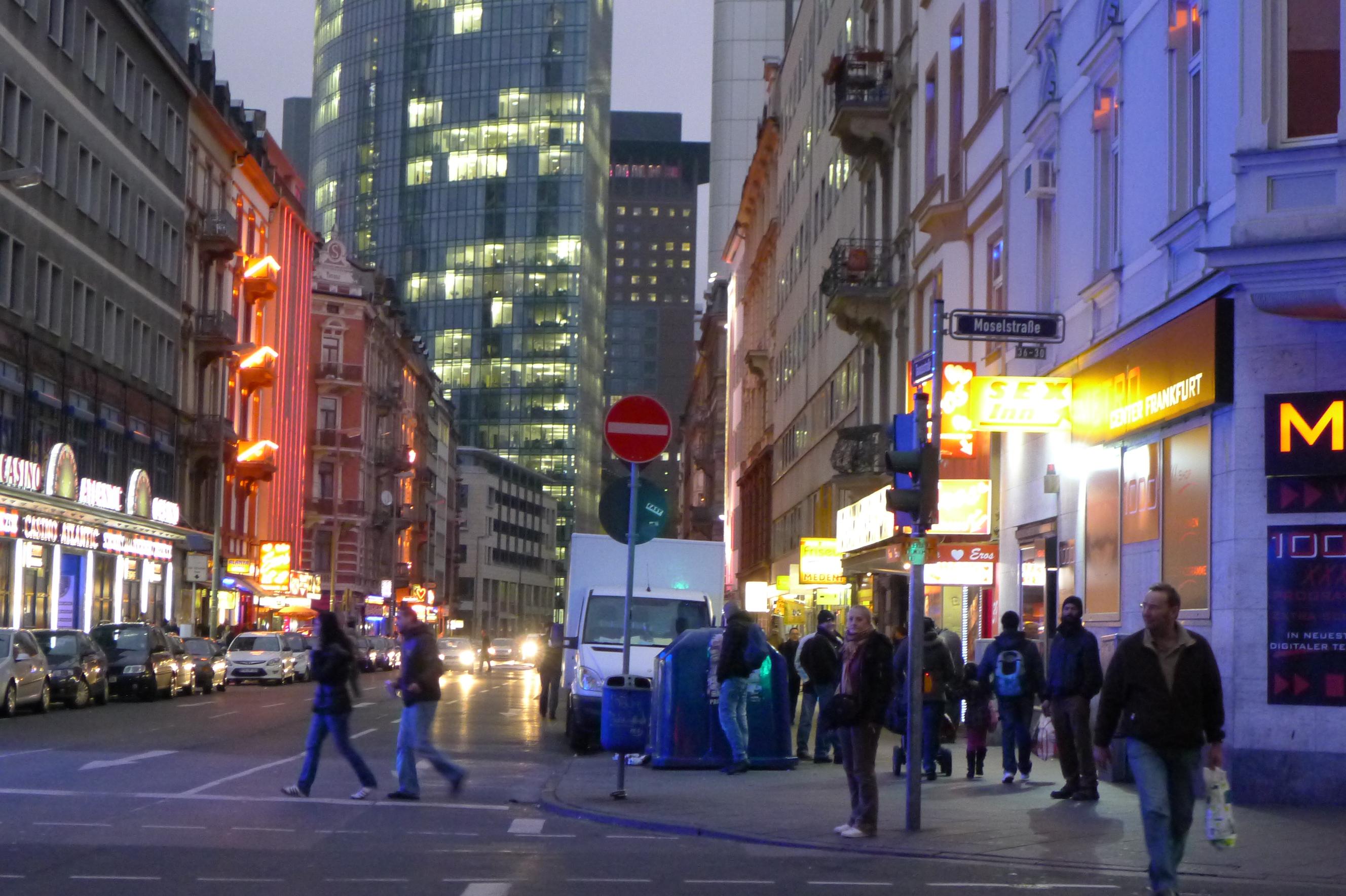 Red Light District I Heart Frankfurt
